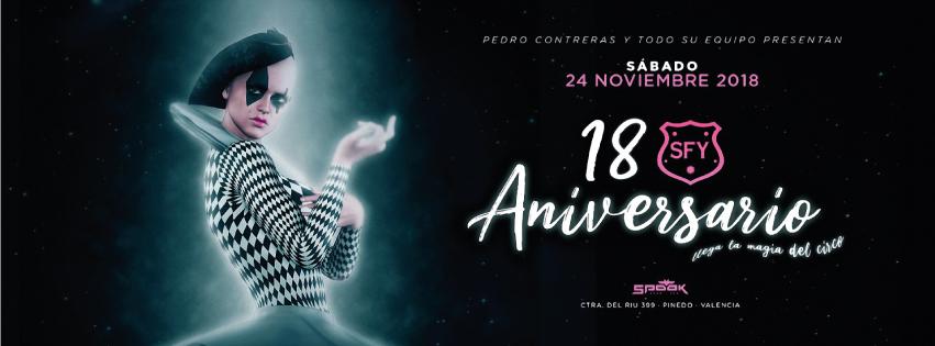 18º ANIVERSARIO SFY